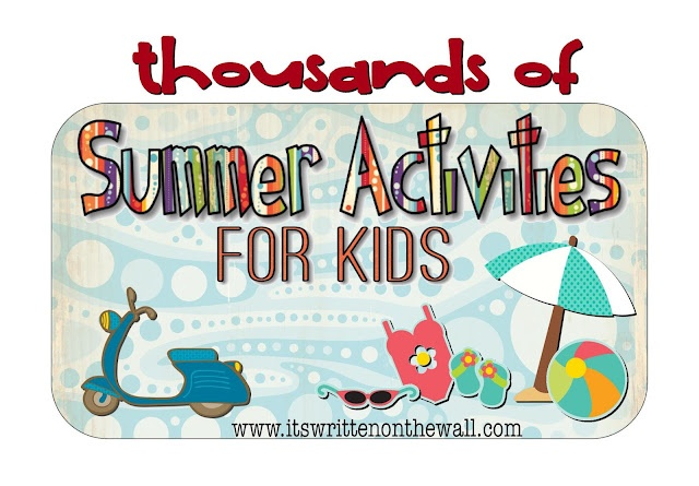 {Literally} Thousands of Activities for the Kids to do during Summer Vacation!: Ideas Summer Fun, Kids Summer, Summer Vacation, Literally Thousands, Gazillion Summer, Summer Activities, Sassy Sites, Summer Ideas, Summer Time