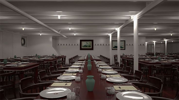 Third Class Dining