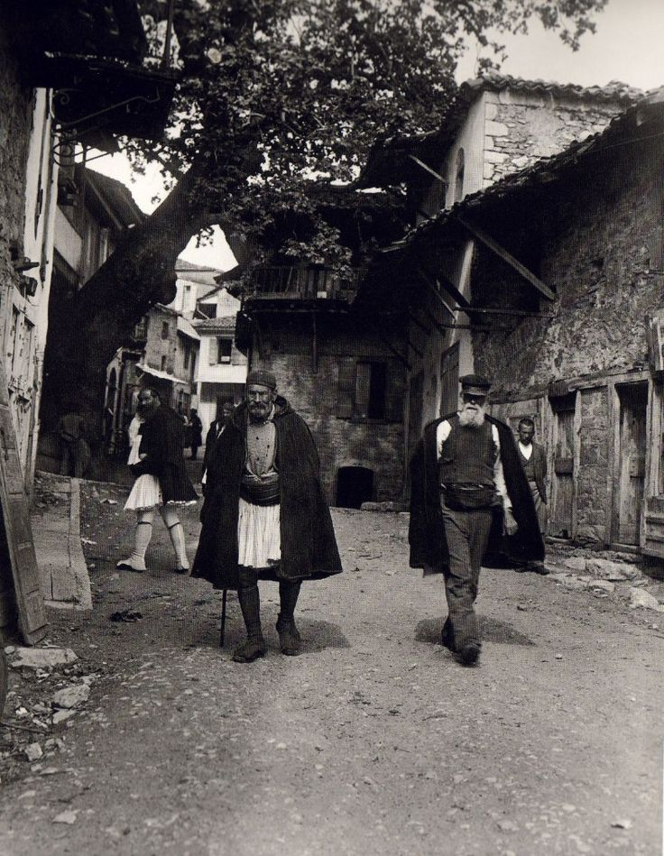 This is my Greece | Andritsaina by Fred Boissonnas (1903-1930)