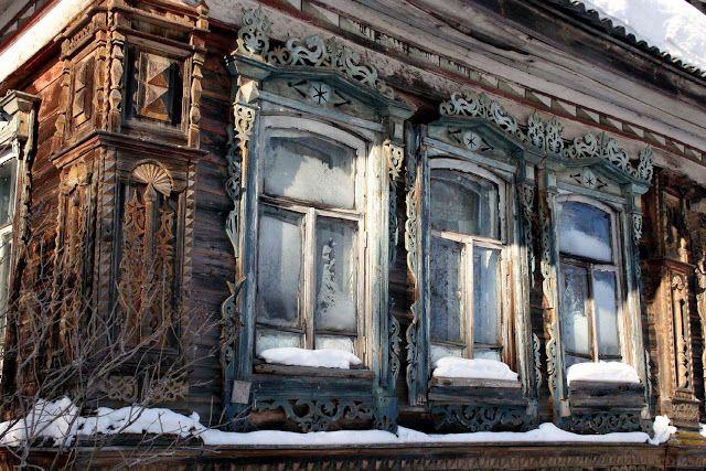 Rostov house in the village