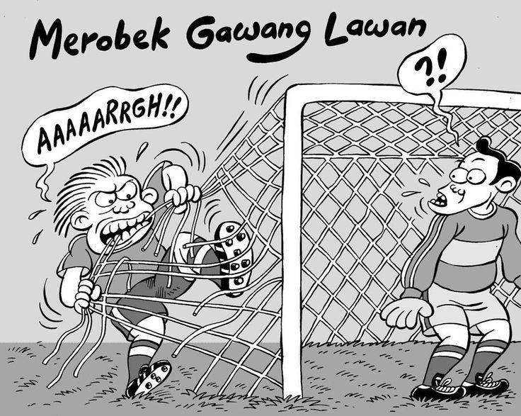 Mice Cartoon, Football's Coming Home: Merobek Gawang Lawan