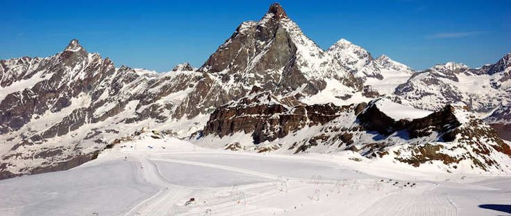 Cervinia...chilly and a little scary but beautiful...on skis