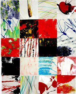 Robert Turner online portfollio: colour mark making