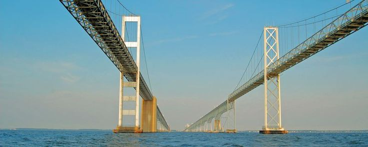 Note: The Chesapeake Bay region has two spectacular bridges. This page is about the Chesapeake Bay Bridge in Maryland. For information about the Chesapeake Bay Bridge Tunnel in Virginia, click here…