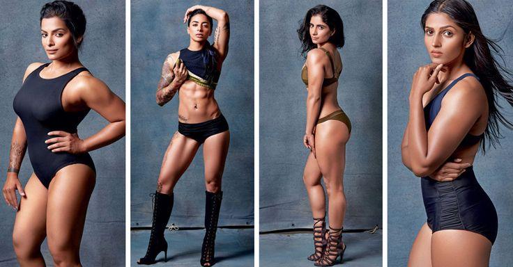 La revista Elle publicó a siete mujeres que muestran con orgullo sus cuerpos musculosos, lanzando por la ventana la idea de los estereotipos femeninos
