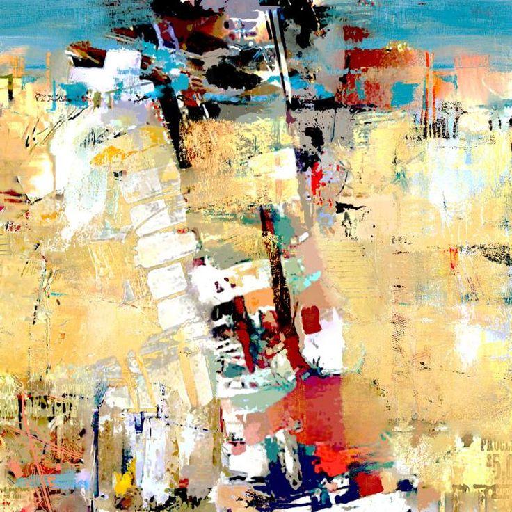 "Saatchi Art Artist Serj Fedulov; Painting, ""Abstract composition "" #art"