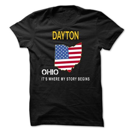 DAYTON - Its Where My Story Begins - #plaid shirt #school shirt. SECURE CHECKOUT => https://www.sunfrog.com/States/DAYTON--Its-Where-My-Story-Begins-tdhlg.html?68278