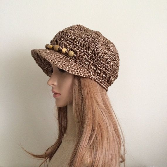 Mejores 114 imágenes de Crochet Beanies, Berets, Hats, and Tams en ...
