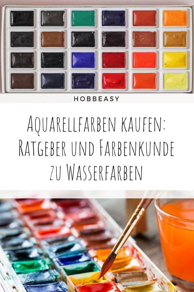 Aquarellfarben Kaufen Die Besten Wasserfarben Im Uberblick