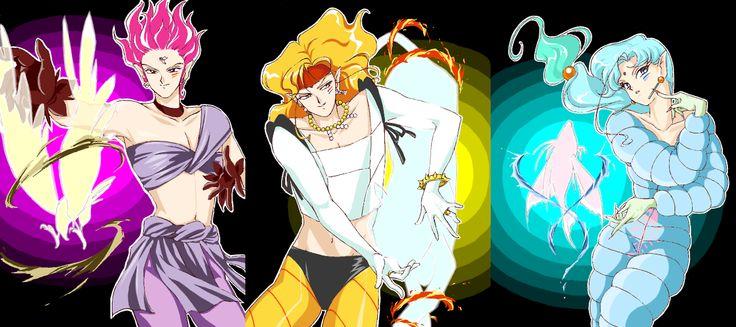 Sailor Moon / Amazon Trio