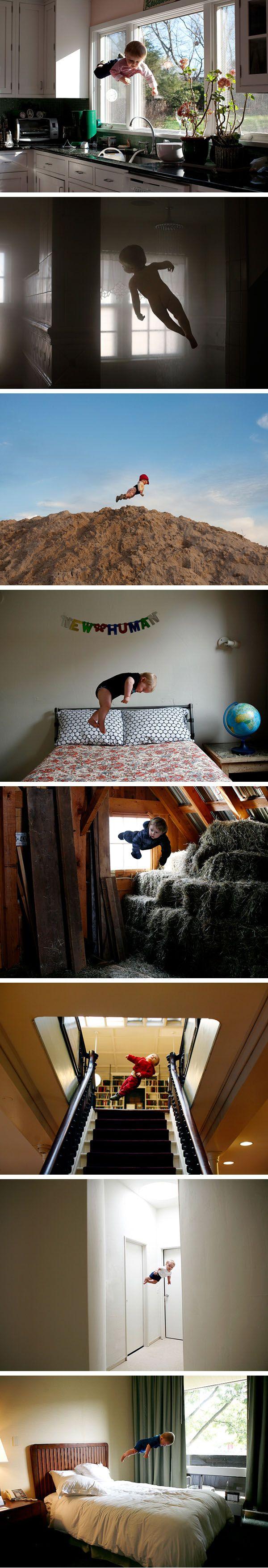 (WOW) Rachel Hulin's amazing baby levitation photos