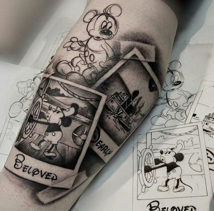 That's amazing! 😍 – #The #DisneyTattooIdeas #mysterious # are