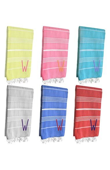 Cathy's Concepts Personalized Turkish Cotton Towel   Nordstrom