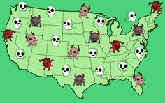 Here Is The Scariest Urban Legend From Every State