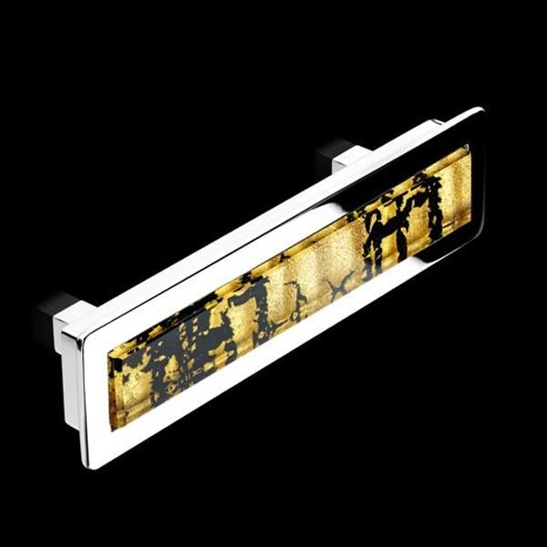 7 best murano glass door cabinet knobs images on pinterest handmade black gold leaf murano glass drawer handle cabinet handlesdoor planetlyrics Gallery