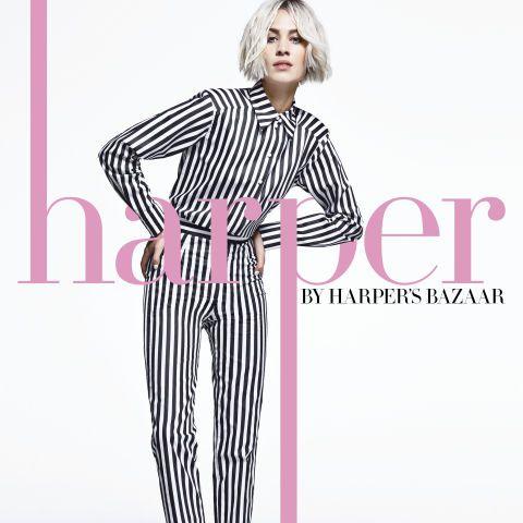 harper by Harper's BAZAAR - Harper's BAZAAR Guest editor Alexa Chung