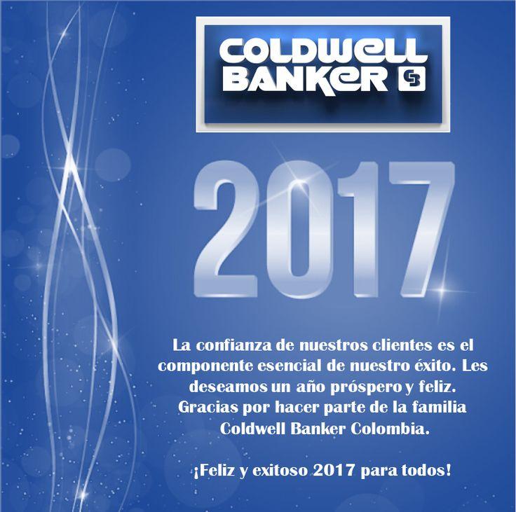 ¡La familia Coldwell Banker les desea un exitoso 2017!