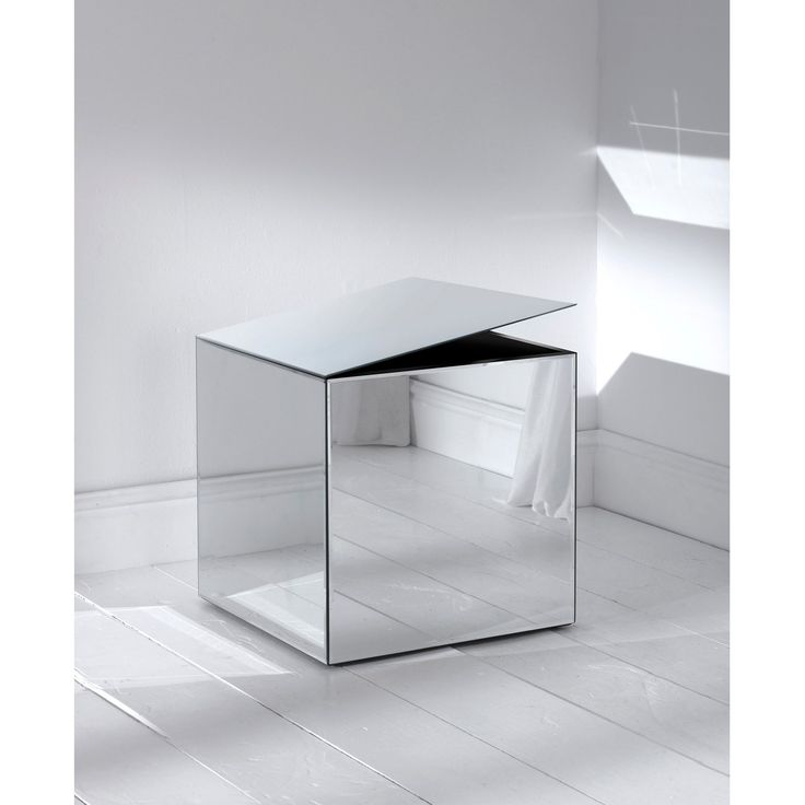 Mirrored Cube Storage Box P Inspiration Pinterest