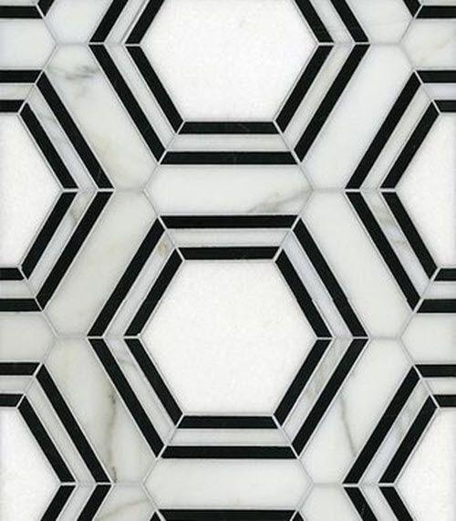 Hexagon Tile Bathroom: 17 Best Ideas About White Hexagonal Tile On Pinterest