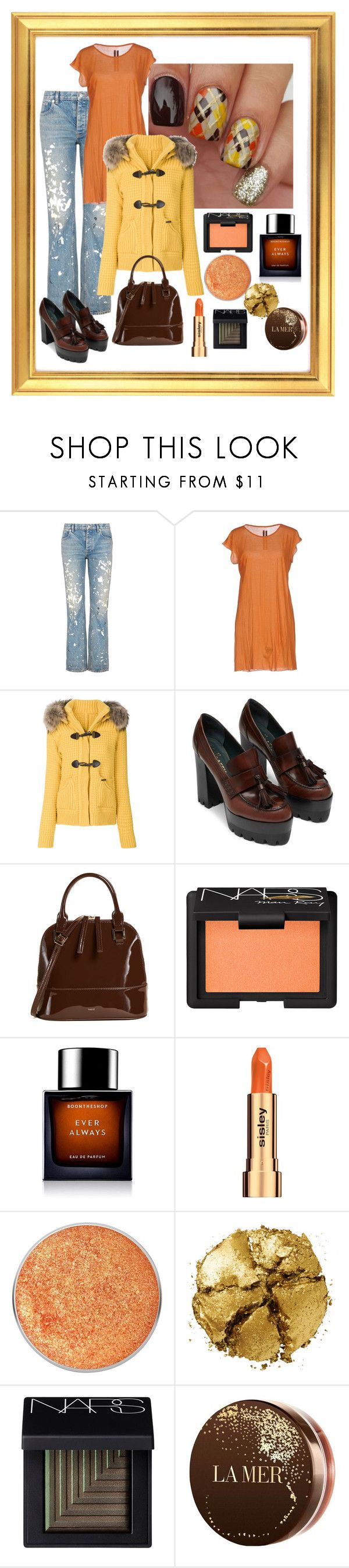 """Nailed It"" by shoultesshark ❤ liked on Polyvore featuring beauty, Helmut Lang, DRKSHDW, Bark, Vasic, NARS Cosmetics, BoonTheShop, Sisley, Suva Beauty and Pat McGrath"
