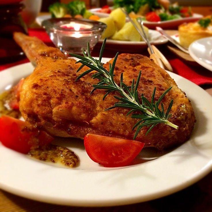 satoさんのパリパリローストチキン #snapdish #foodstagram #instafood #food #homemade #cooking #japanesefood #料理 #手料理 #ごはん #おうちごはん #テーブルコーディネート #器 #お洒落 #ていねいな暮らし #暮らし #ローストチキン #チキン #クリスマス #クリスマス料理 #dinner #ディナー #パーティー #christmas https://snapdish.co/d/LTqLua