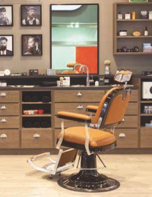 Zerbini Barber Chair - Ultra Chic Modern Barber Shop
