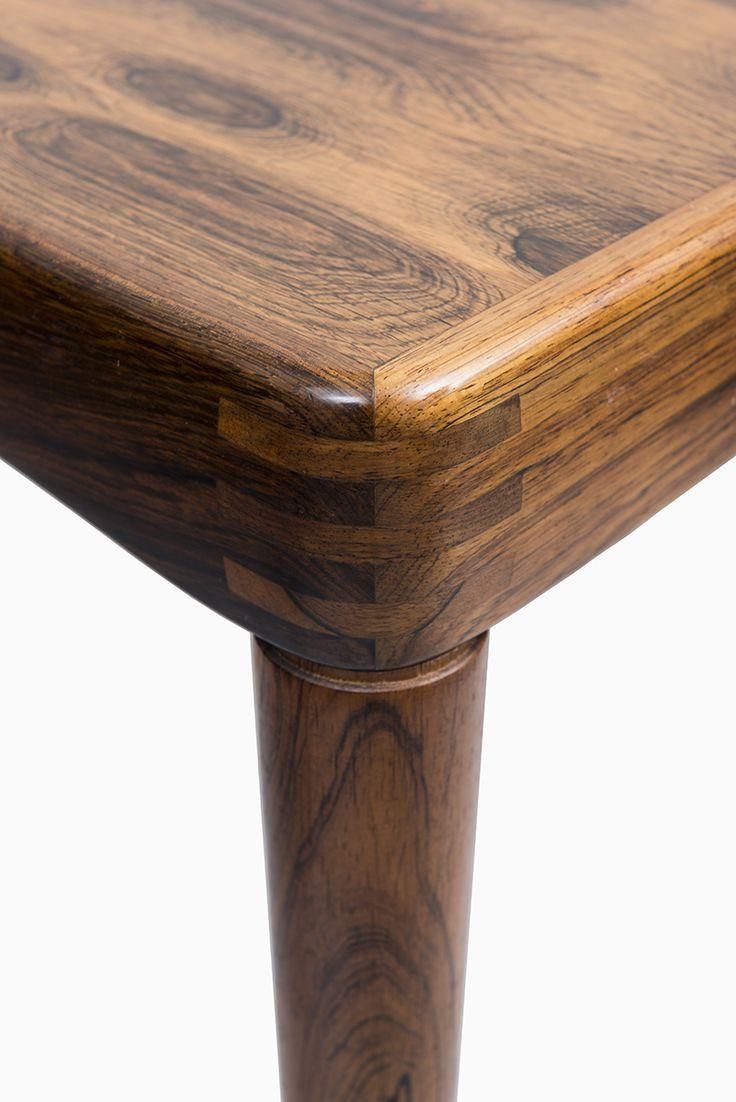 HW Klein Dining Table In Rosewood By Bramin, More HW Klein Furniture At  Studio Schalling