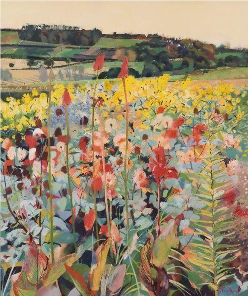 Louis Turpin - Valley Garden - Bohun Gallery: contemporary British ...