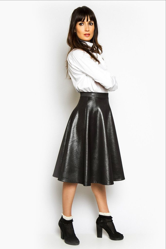 Grand Shimmer Midi Skirt Cuggo Wear Your Personality The Dressing Room Pinterest