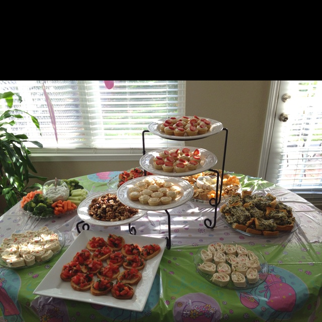 baby shower finger food