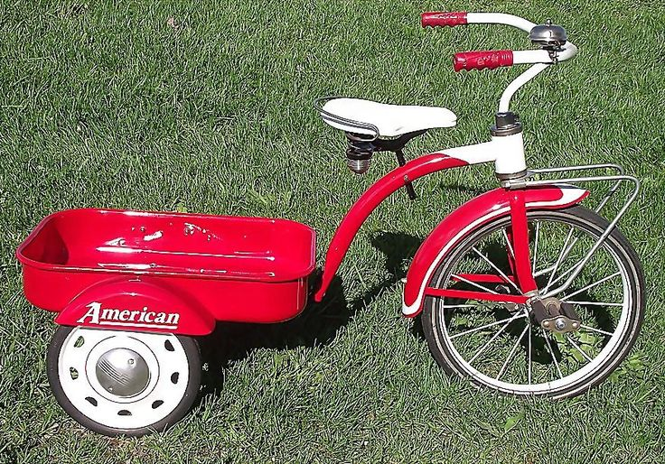 Rare 1949 Fully Restored Quot Pedal Wagon Quot Tricycle Made In