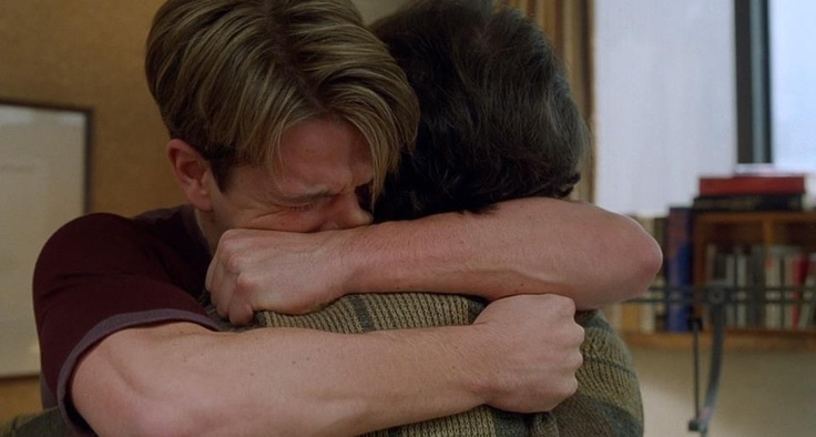 Good Will Hunting. Phenomenal movie and acting. Reminds me why I love film so much.