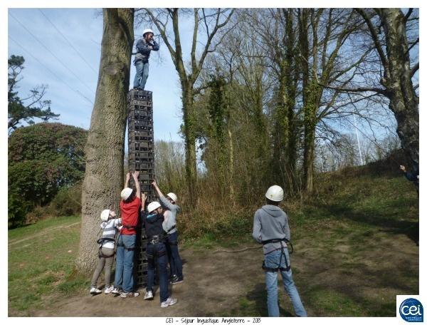 Les s jours en coll ges anglais sont remplis d 39 activit s for Voyage organise jardins anglais