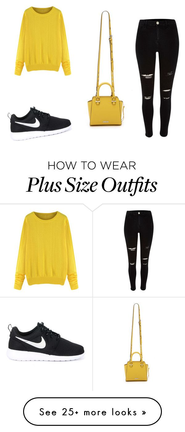 """My First Polyvore Outfit"" by komyshanovaa on Polyvore featuring NIKE and Rebecca Minkoff"