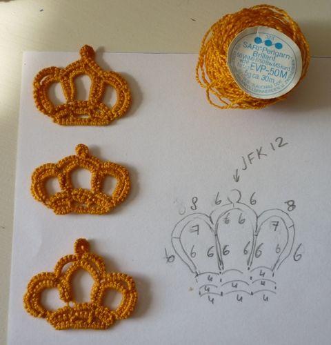 Tatting Tea Tuesday -- Motif #3 Corina's Crown