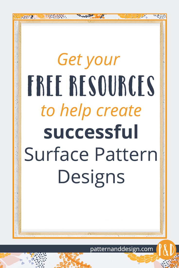 Surface pattern and design resources: FREE downloads