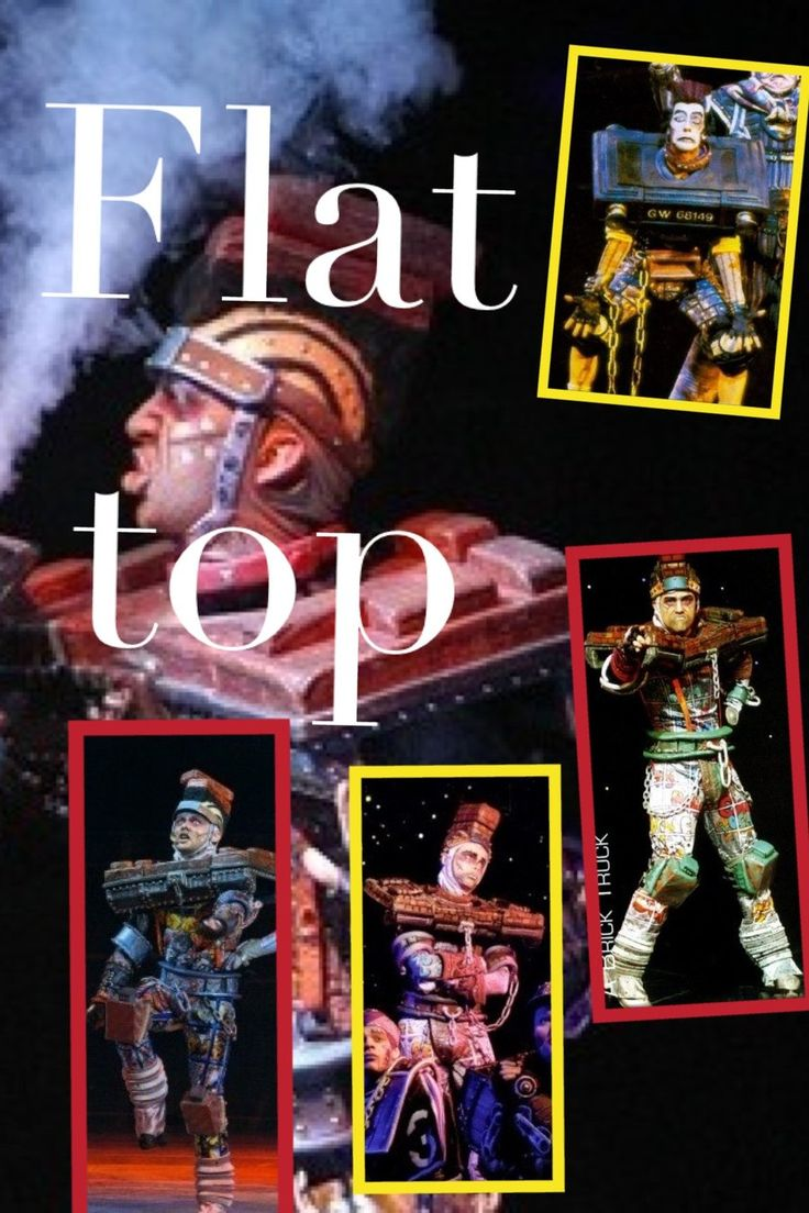 Starlight Express Flat Top by Trapanzemia.deviantart.com on @deviantART