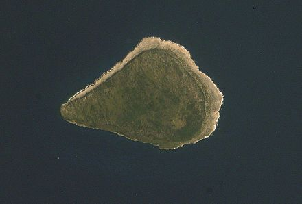 Navassa Island(/nəˈvæsə/;French:La Navasse,Haitian Creole:LanavazorLavash) is a small, uninhabited anddisputed islandin theCaribbean Sea. It is administered asunorganized unincorporated territoryof theUnited States, which administers it through theU.S. Fish and Wildlife Service. The nearby state ofHaitihas claimed legal[1]sovereignty over Navassa since 1801, and claims the island in its constitution. Navassa Island - NASAISSsatellite image.