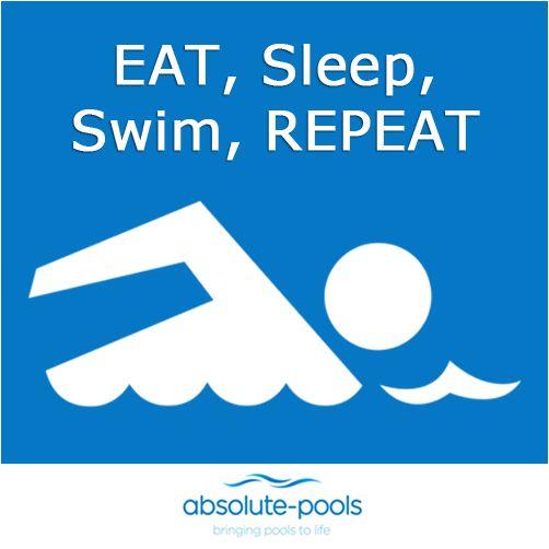 Doesn't this make you wish for just that?   Eat. Sleep. Swim. Repeat.   #absolutepools #swimmingpools #Dubai #UAE #poolservices #poolmaintainance #MyDubai
