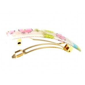 This summery hair clip is perfect for sunny holidays and festivals! Floral fashion hair clip - 9 cm