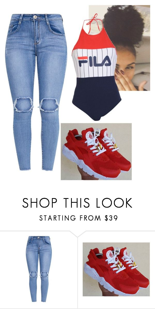 """Untitled #199"" by bigdaddycam43 ❤ liked on Polyvore featuring Fila"