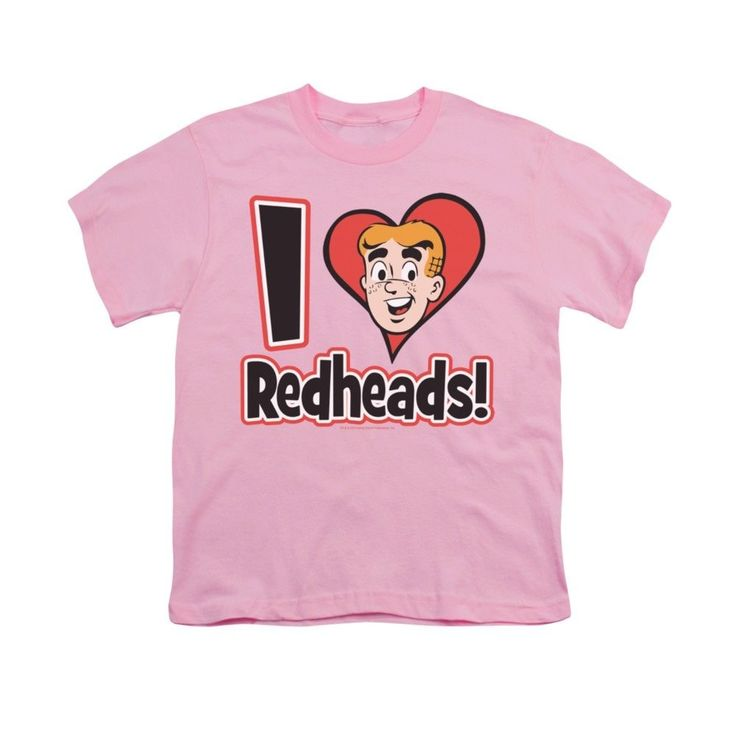 Archie Comics - I Love Redheads Youth T-Shirt