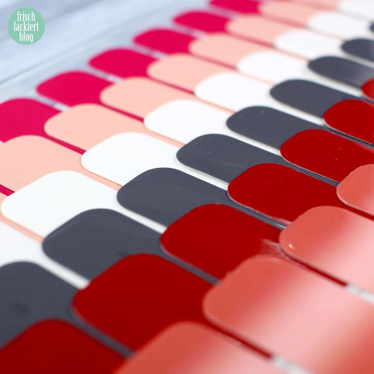 Sticker Gigant Nagelsticker - Farbsolos – by frischlackiert