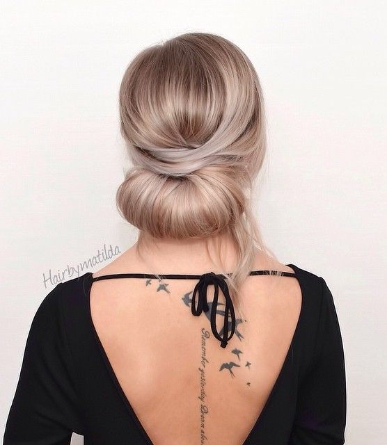 Formal Chignon Updo                                                                                                                                                                                 More