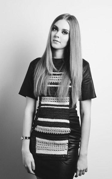 Johanna from the band First Aid Kit. Photography by Annika Berglund. Love the look!