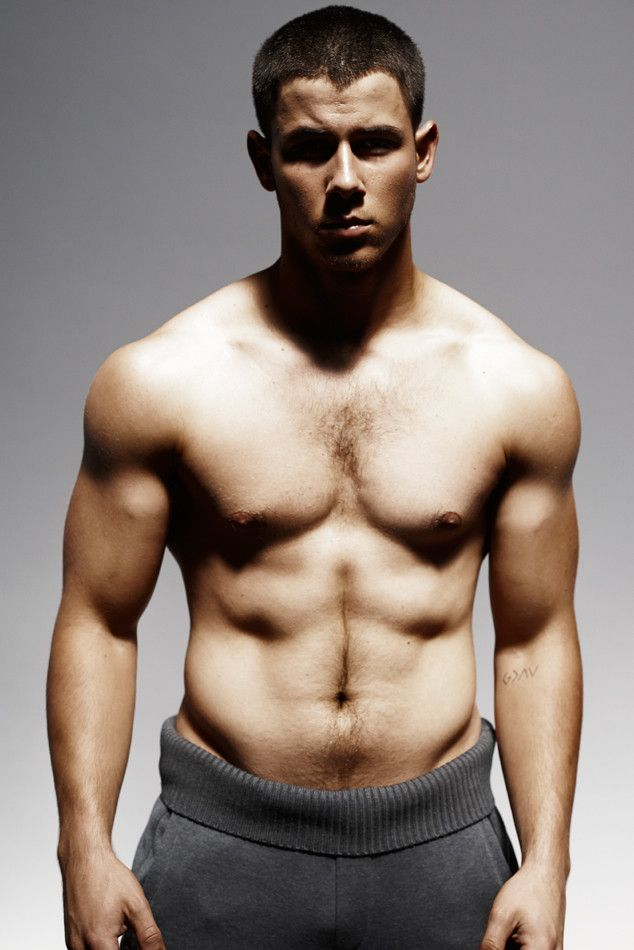 Nick Jonas Poses Shirtless Again, Reveals How He Obtained Rock-Hard Hulk-ish Body?See the Photos!