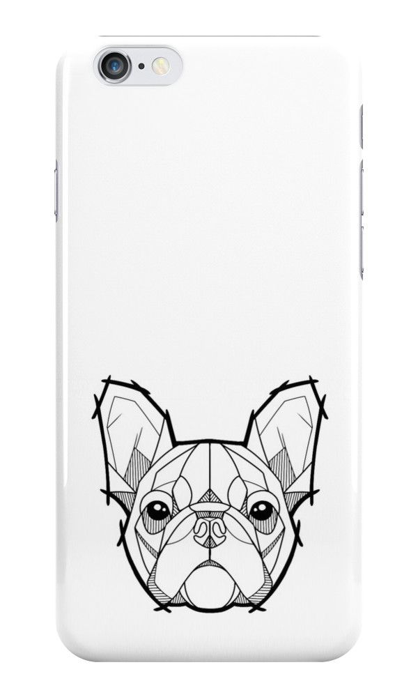"""The French Bulldog"" iPhone Cases & Skins by FatLizardStudio 