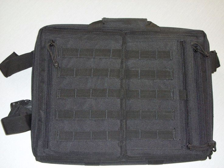 Tactical Laptop Backpack Molle Bag Carrying Case Military Spec Grade Pack Black!