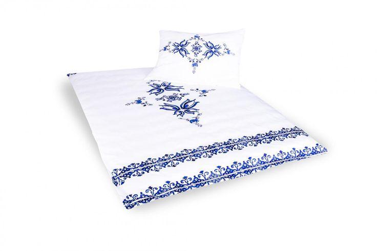 Holey Quilt obliečky Bavlna Deluxe  Habánsky vzor 1 140x200, 70x90cm
