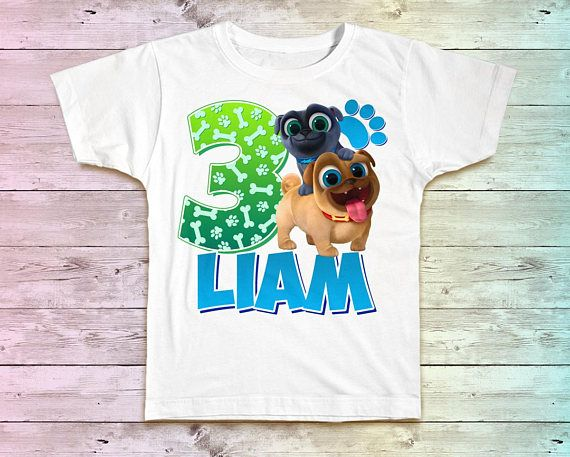 These Birthday Party Shirts Will Make An Excellent Addition To Your Special Party Share With Images Puppy Birthday Parties Birthday Boy Shirts Puppy Birthday Party Theme